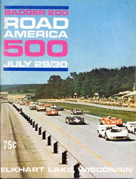 Une affiche du Road America 500