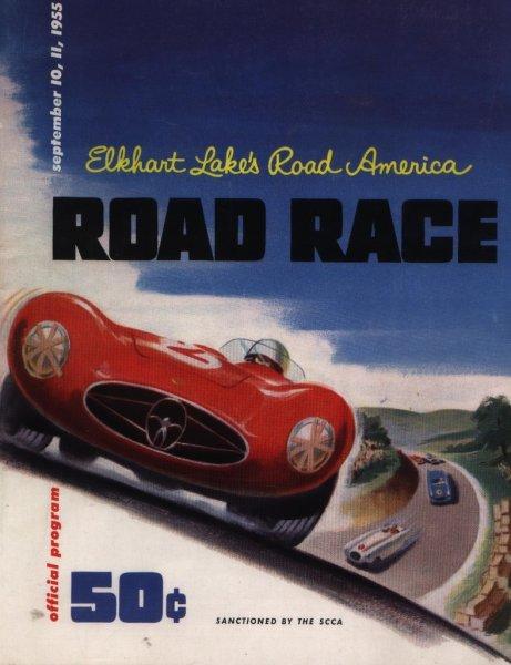 Affiche 1ere course Road America
