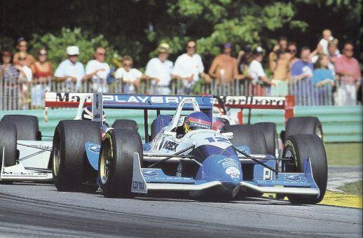 Jacques Villeuneuve et sa 1ere victoire en Indycar à Road America